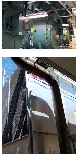 RTA Water Treatment chemically treats boilers and booling Tower